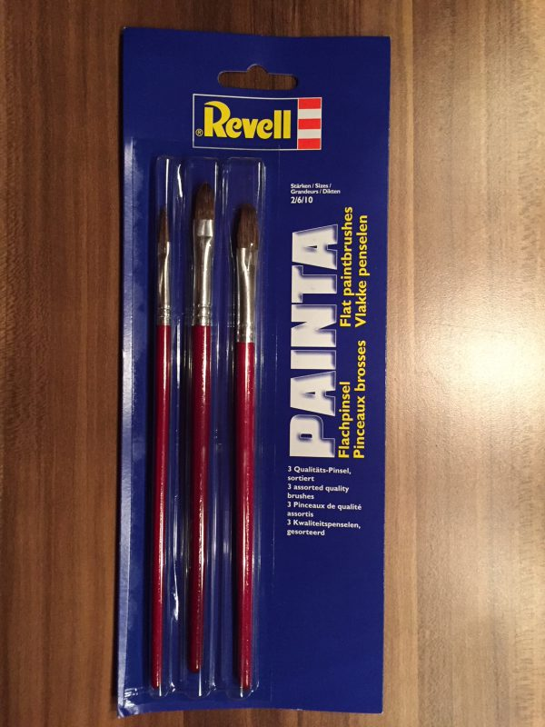 Revell Painta Flachpinsel Set